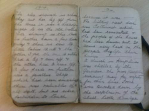 WW1 Soldiers Diary