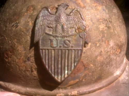 Unidentified Adrian helmet