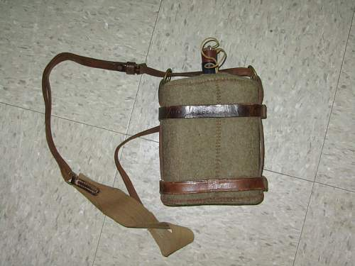 British/ Canadian WWI(?) Canteen FOUND IN GARBAGE!