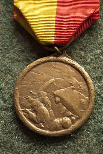 My great great grandfather's Belgian WWI medals!