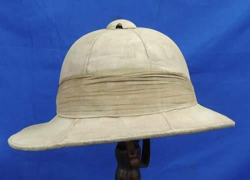 My new British Pith helmet