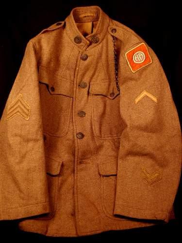 82nd Div. Tunic.