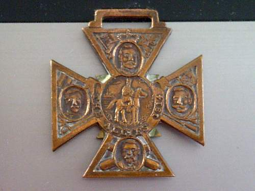 Need help with The Allies 1914 medal/award???