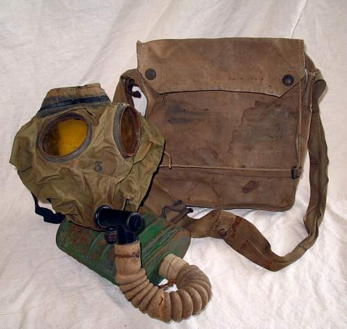 WWI British or Canadian Gas Mask