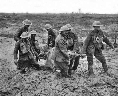 Click image for larger version.  Name:Stretcher_bearers_Passchendaele_August_1917.jpg Views:1742 Size:185.7 KB ID:430133