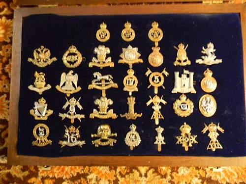 British Army Regular Cavalry Cap Badges 1914