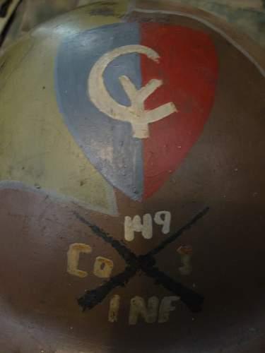 US M1917 brodie Camo