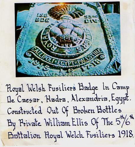 great war miniature british medal set