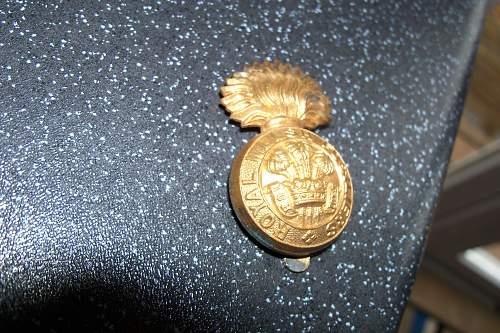 royal welsh fusiliers cap badge(economy)
