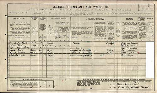 Click image for larger version.  Name:1911 England Census for Herbert Marson.jpg Views:97 Size:243.9 KB ID:441462