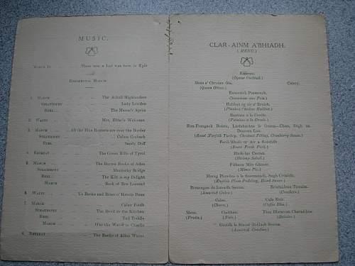 Christmas Dinner 1917