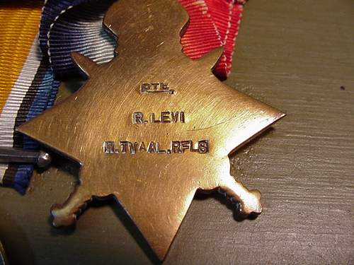R. Levi Medal Grouping