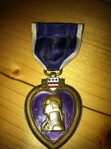 WW1 Purple Heart named Albert L Dresnek
