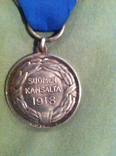 Finland Medal of Liberty