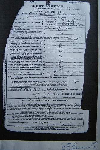 Click image for larger version.  Name:A L Bond WWI records Grandfather m.jpg Views:82 Size:279.8 KB ID:456415