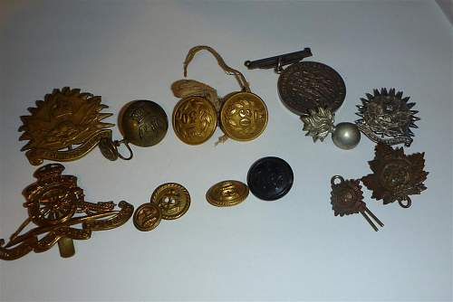 A few old button to identify..