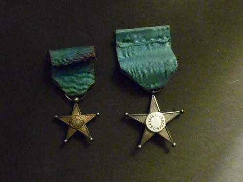 the long service medal for  Belgian Congo