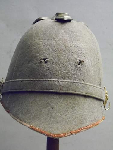 blue cloth/home service helmet