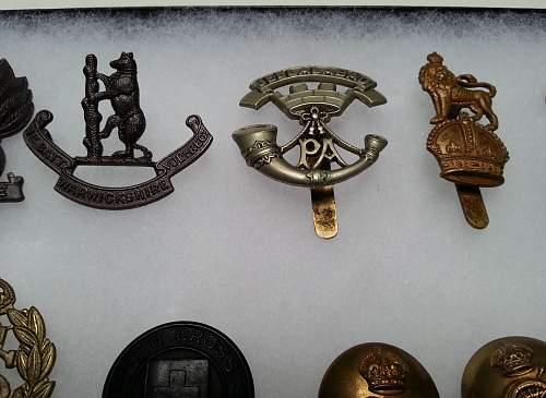 Cap Badge Purchases