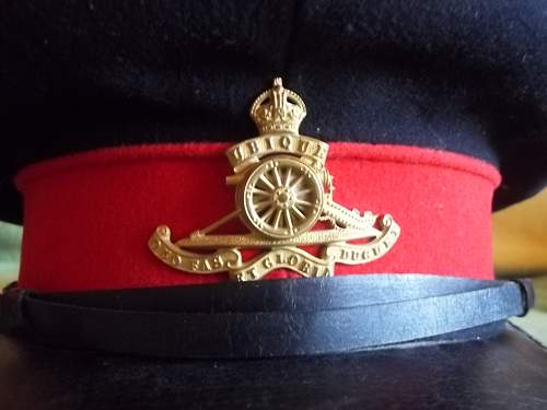 WW1 British Visor Cap