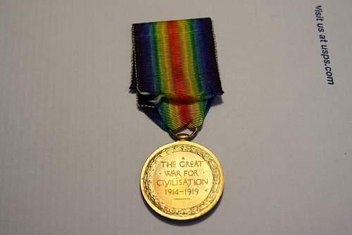 British WW1 medal group