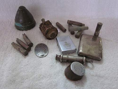 1915 British Trench Whistle