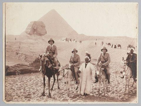 Trench art Horse Hoof - Egypt 1916