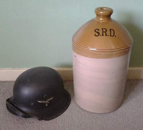 two gallon srd rum jar