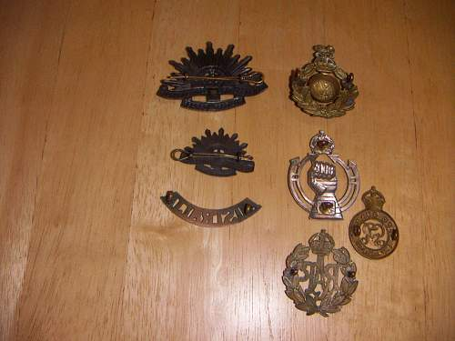 Possible WW1 British made US Army Officers cap badge?