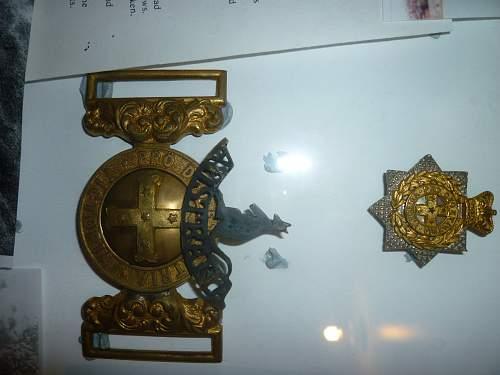 Click image for larger version.  Name:Framed Boer War Insignia 002.jpg Views:75 Size:211.1 KB ID:505174
