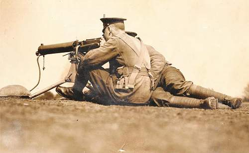 WWI Vickers .303 MG Images.