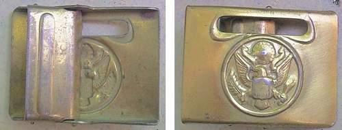 U.S. buckle or bridle