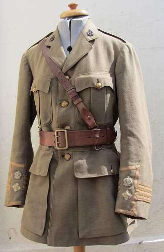 Ww1 ramc officers cuff ranked  service dress jacket