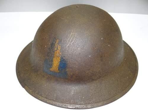 WWI US Army 77th Helmet