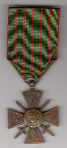 WWI medals