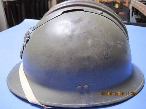 WWII French Generals Helmet Authentic?