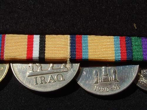 WW1 Trio and Iraq GSM