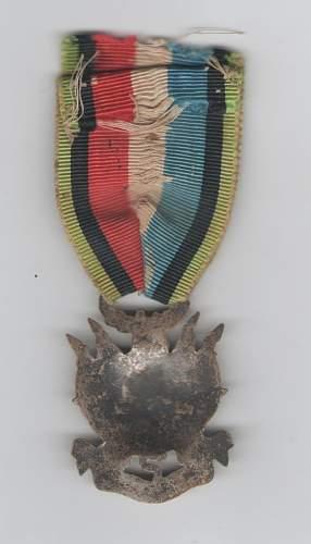 French medal 1870-1871 for veterans