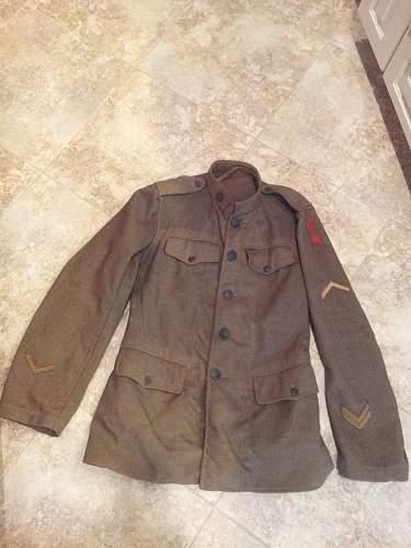 "US WW1 32nd Inf Div ""Red Arrow"" tunic"