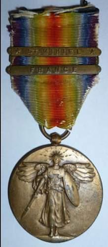 usa victory medal