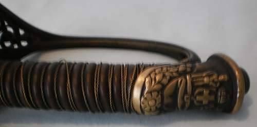 greek officers carl eickhorn solingen wwi sword.