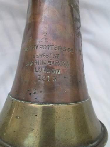 Interesting Bugle find on ebay