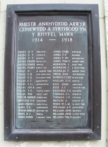 South Wales Borderers KIA group