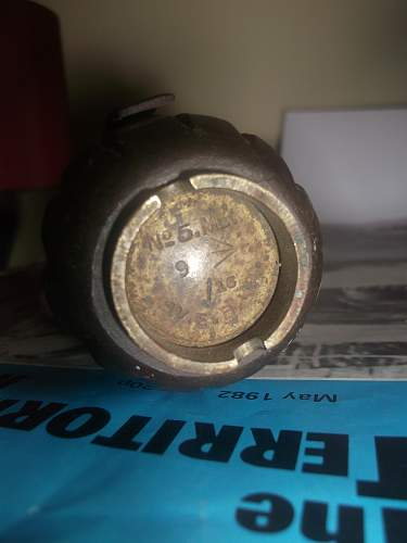 No5 Mills Bomb With Provenance
