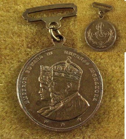 Edward VII medal identification, please.