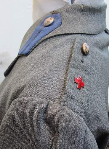 Ww1 american red cross nurses uniform set