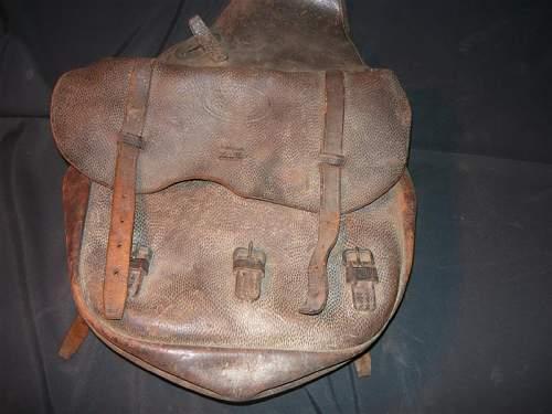 U.s. Calvary items identify saddle