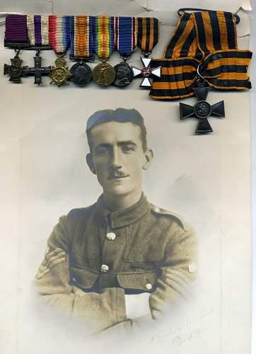 George Cross miniature medal set