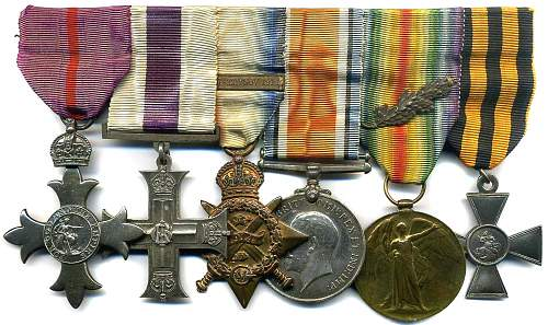 Military Cross to Sergeant