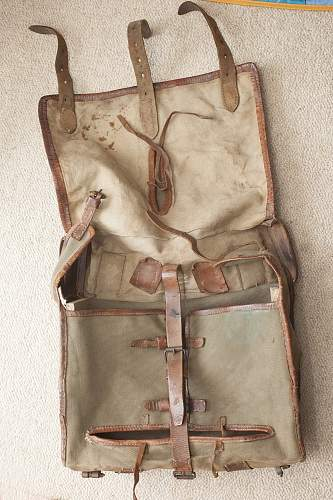 French WW1 backpack?